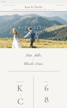 Free Wedding Website Templates Builder Ideas Themes Zola